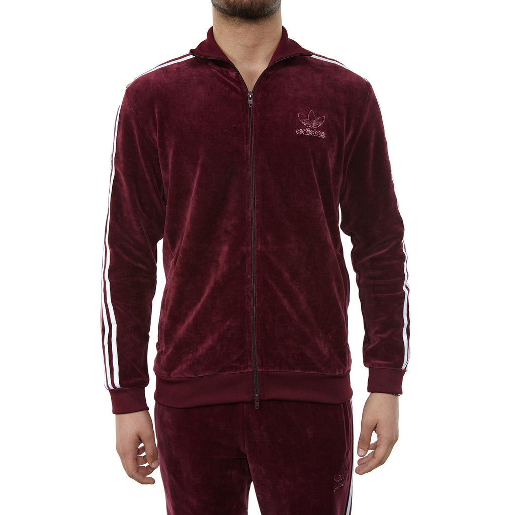 Adidas Velour Bb Jacket Mens Style : Dh5789-MAROON