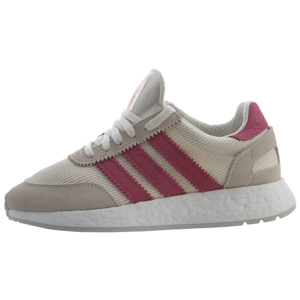 Adidas I-5923 Running shoes white pink grey sneakers  Womens Style :D96618