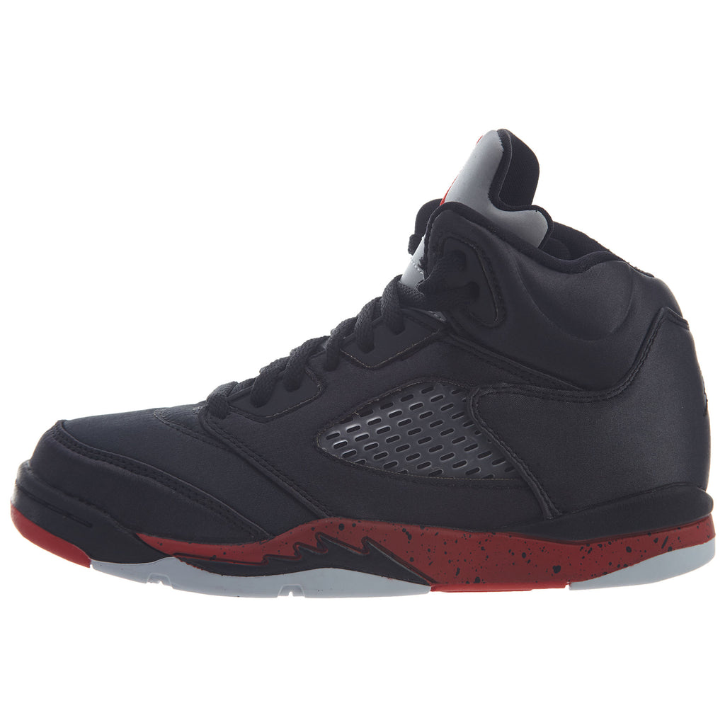 Jordan 5 Retro Satin Bred Little Kids Style : 440889-006