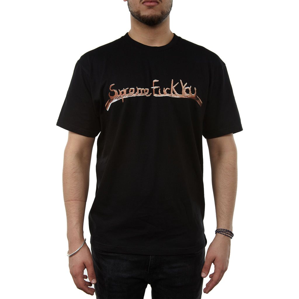 Supreme Fuck You Tee Black Mens Style : Sup-fckyt-BK