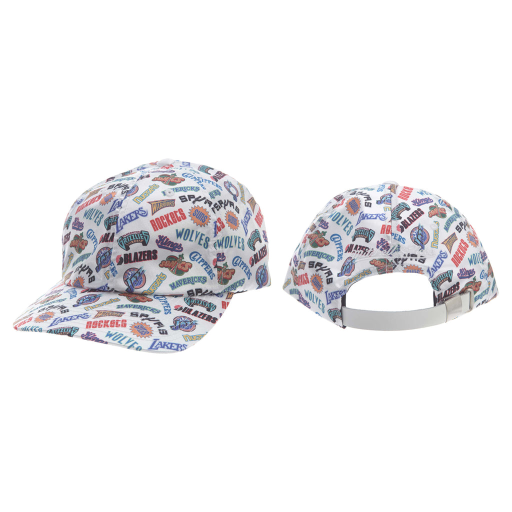 Mitchell&ness All Over Dad Cap Timberland Mens Style : Ng18362-WHITE