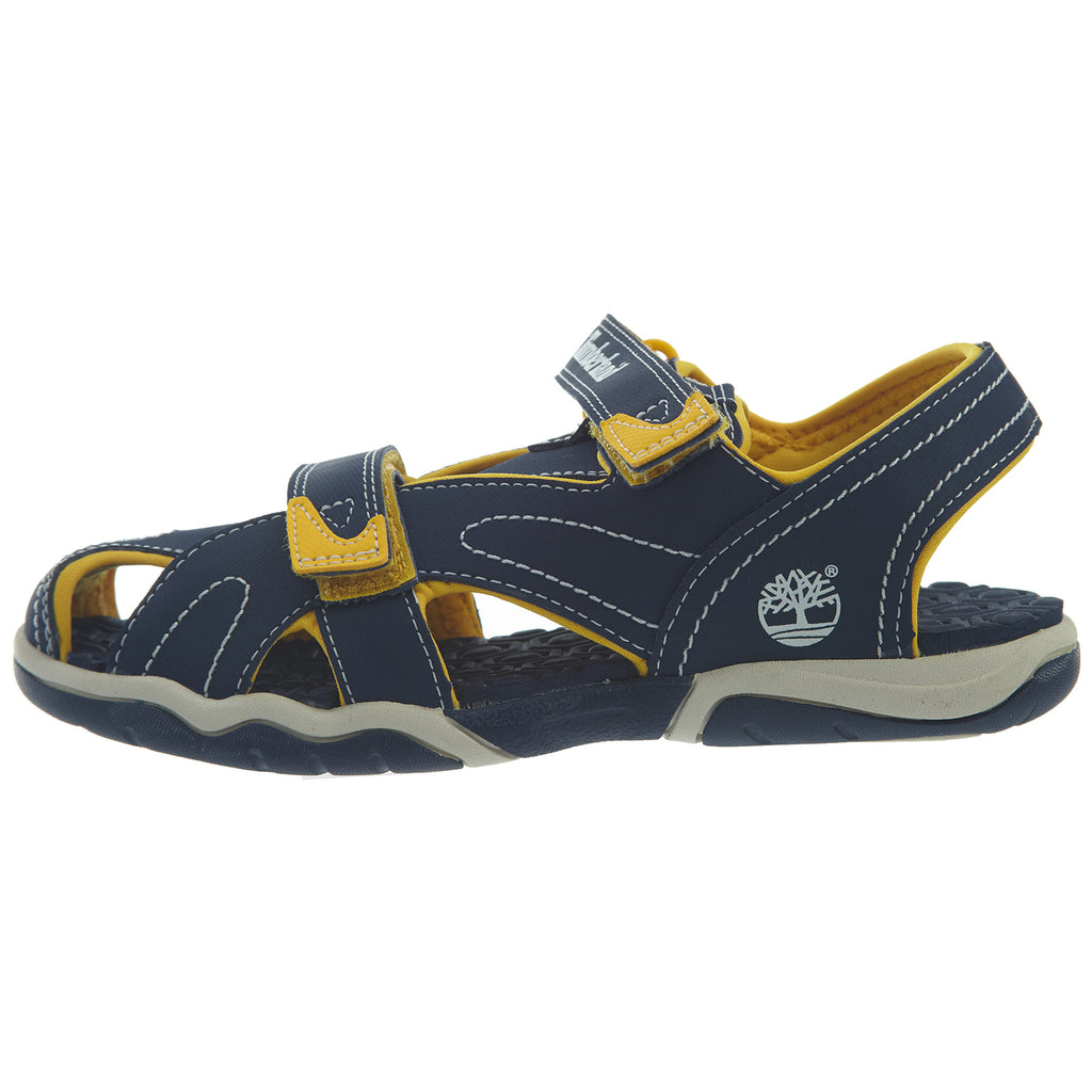 Timberland Adventure Seeker Closed Toe Sandal Little Kids Style : Tb02570a-Blue