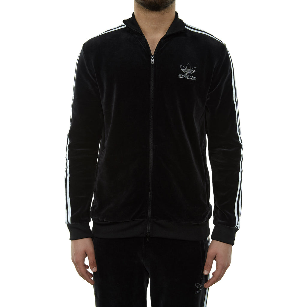 Adidas Velour Bb Track Top Mens Style : Du7777-Blk