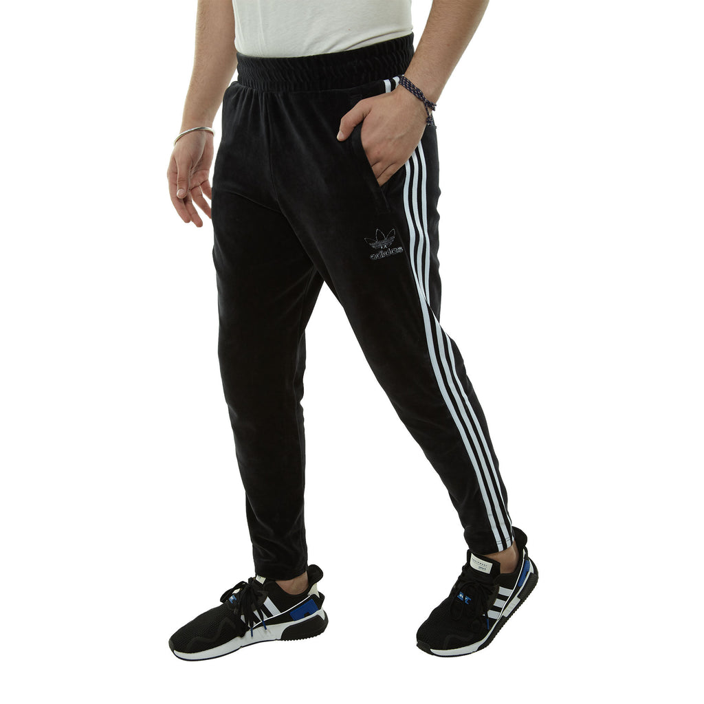 Adidas Velour Bb Trackpants Mens Style : Du7778-Blk