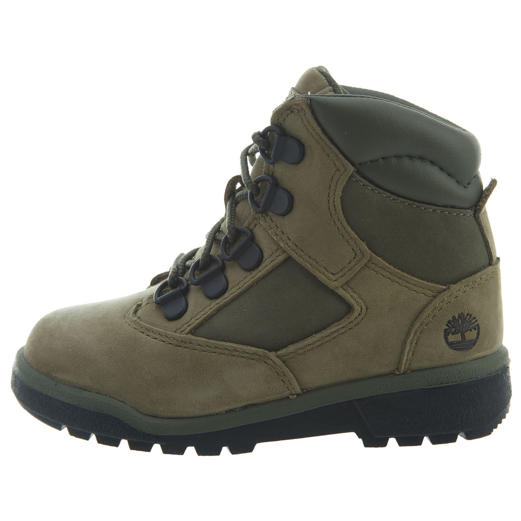 "Timberland 6"" Field Boots Toddlers Style : Tb0a1rnn-Green"