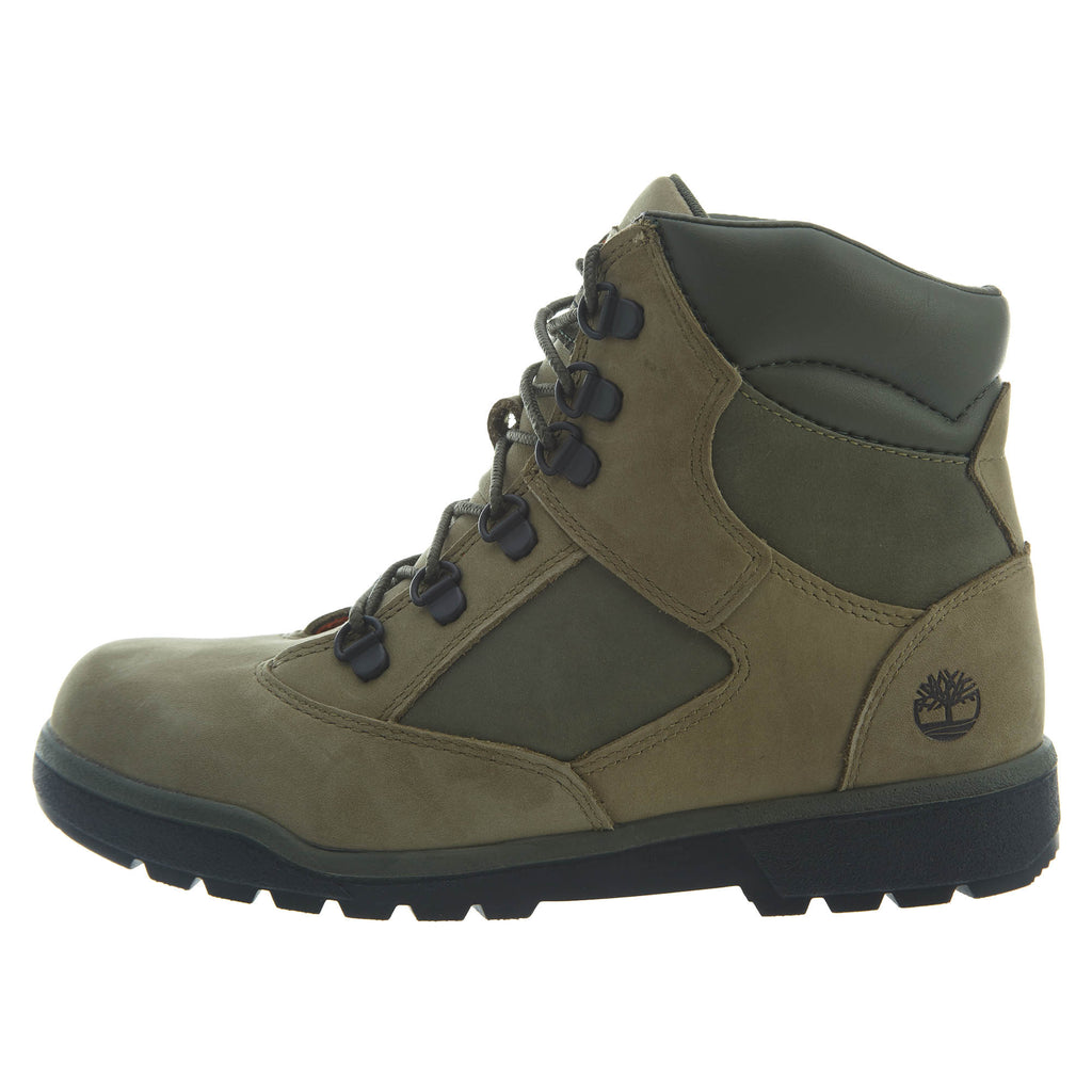 "Timberland 6"" Field Boots Big Kids Style : Tb0a1roi-Green"