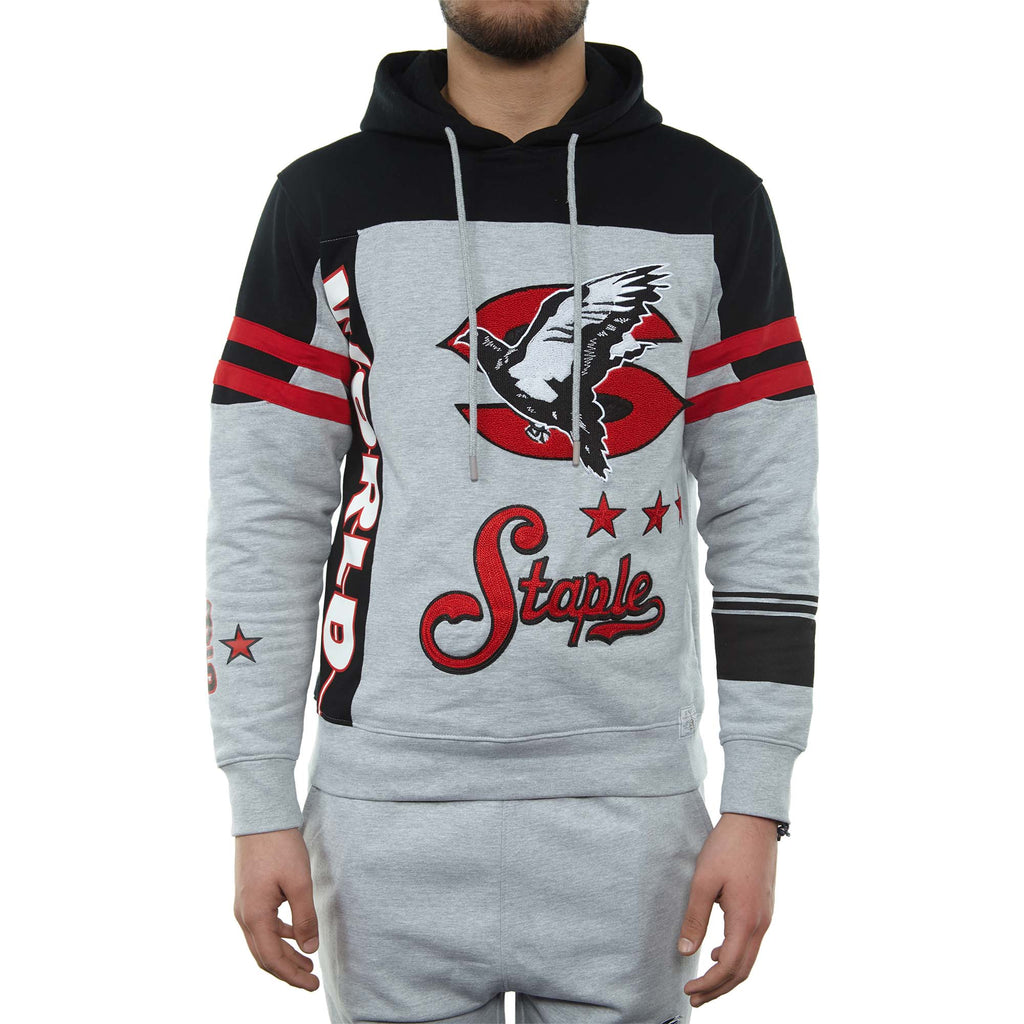Staple Classics Hoodie Mens Style : 1810h5064-HEATHER