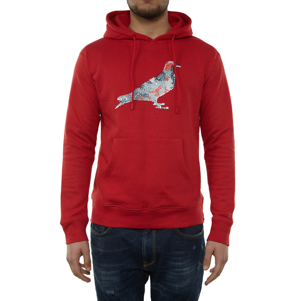 Staple Pigeon Jewel Hoodie Mens Style : 1810h5120-RED