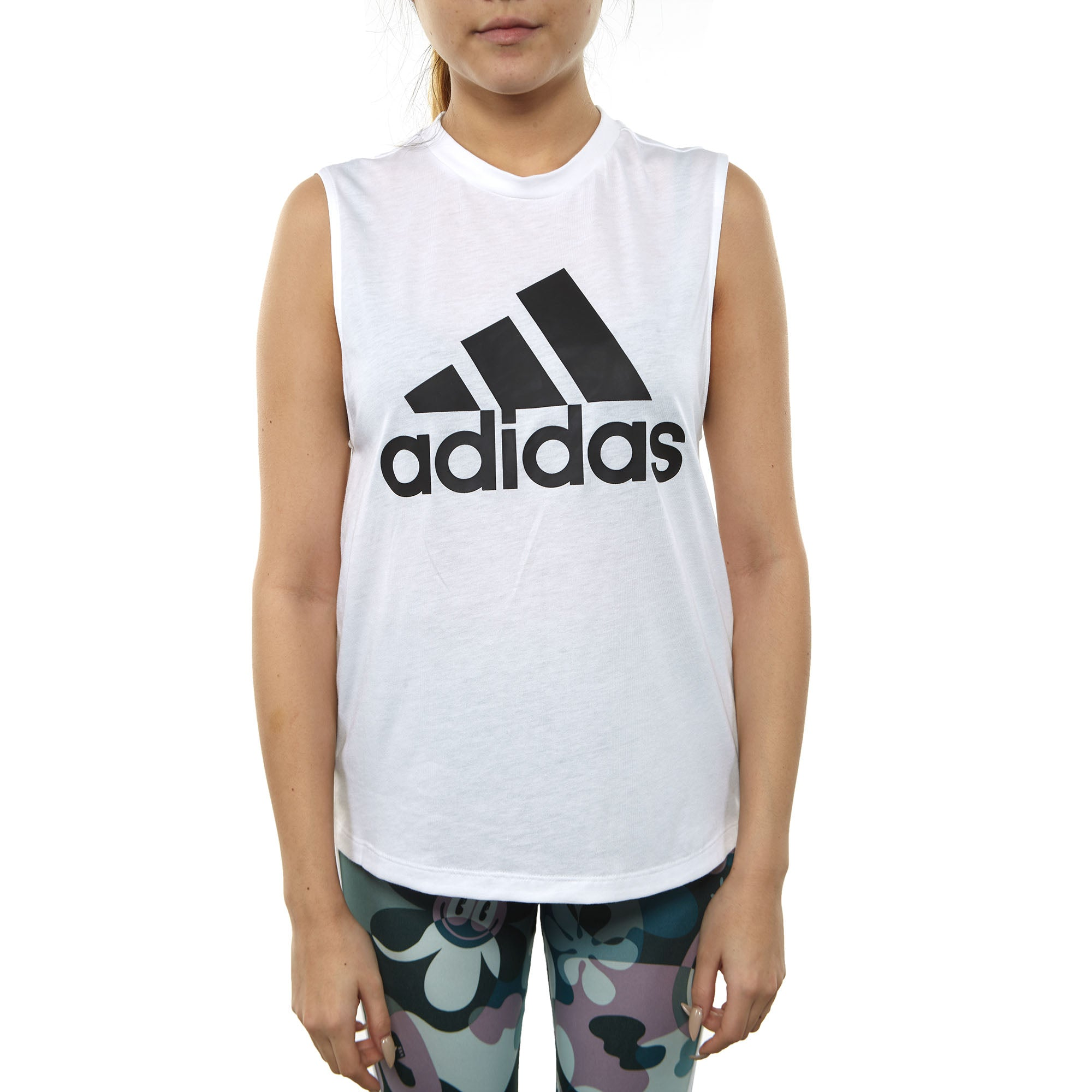 Adidas Must Haves Badge Of Sport Tank Top Womens Dp2409