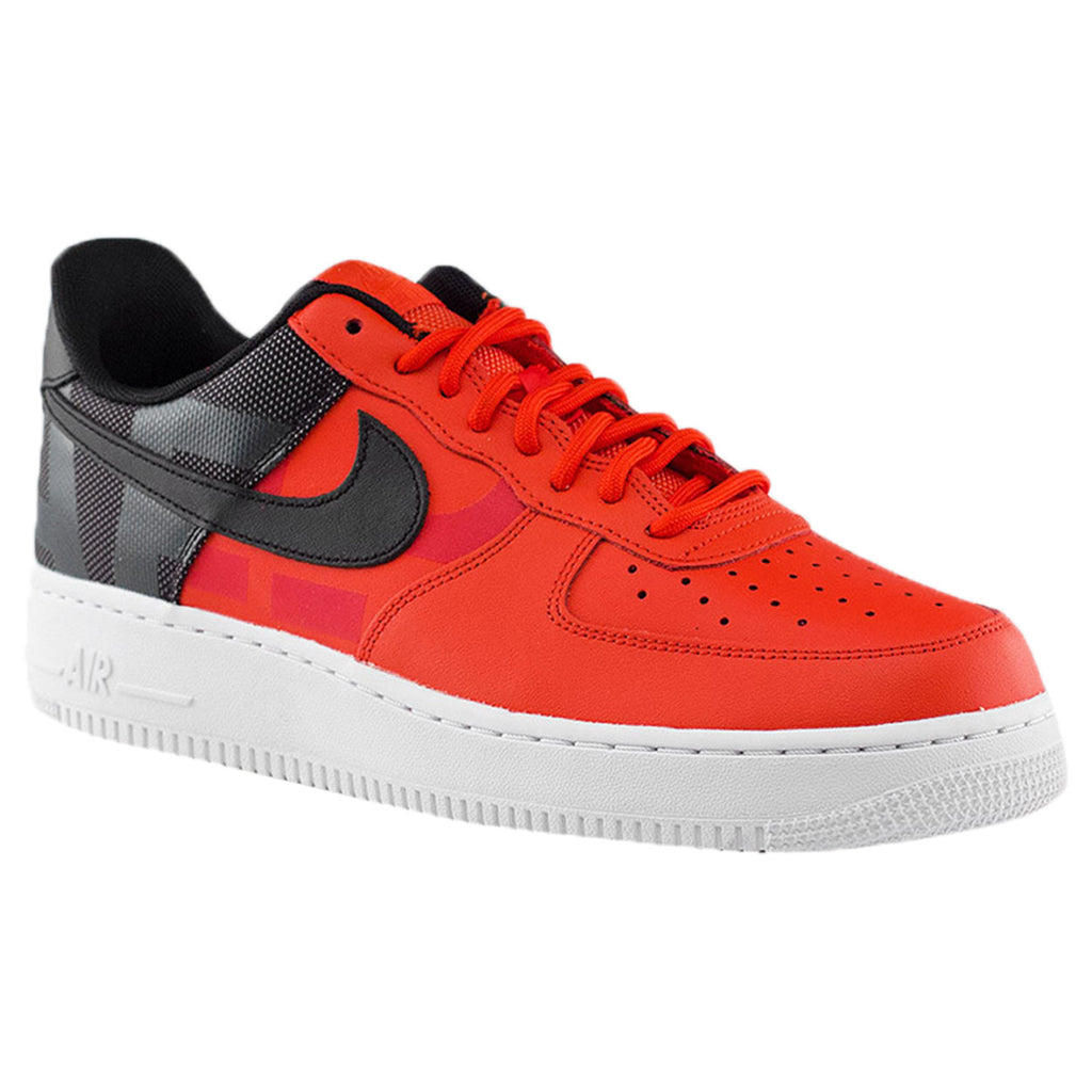 Nike Air Force 1 '07 LV8 Habanero Red Black Mens Style :AV8363