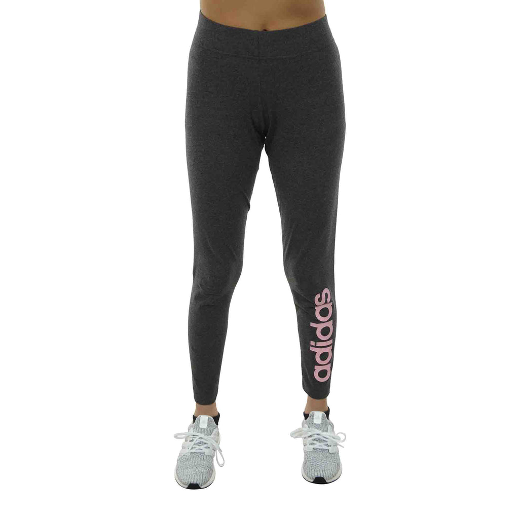 Adidas Essentials Linear Tight Womens Style : Du0677-DGREYH/TRUPNK