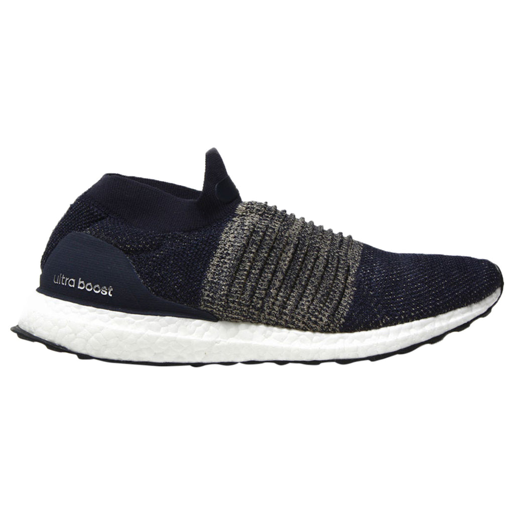 Adidas Ultra Boost Laceless Legend Ink Primeknit Mens Style :BB6135