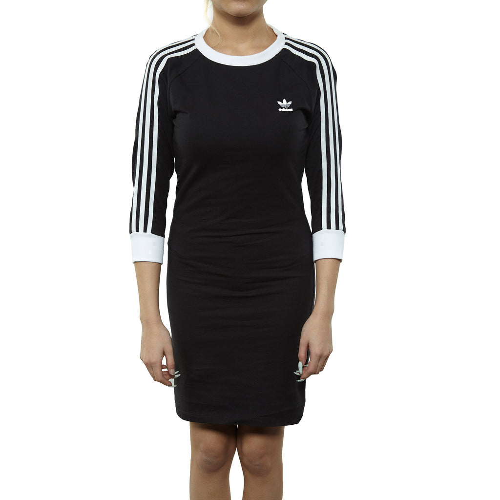 Adidas 3 Stripes Dress Womens Style : Dv2567-BLACK
