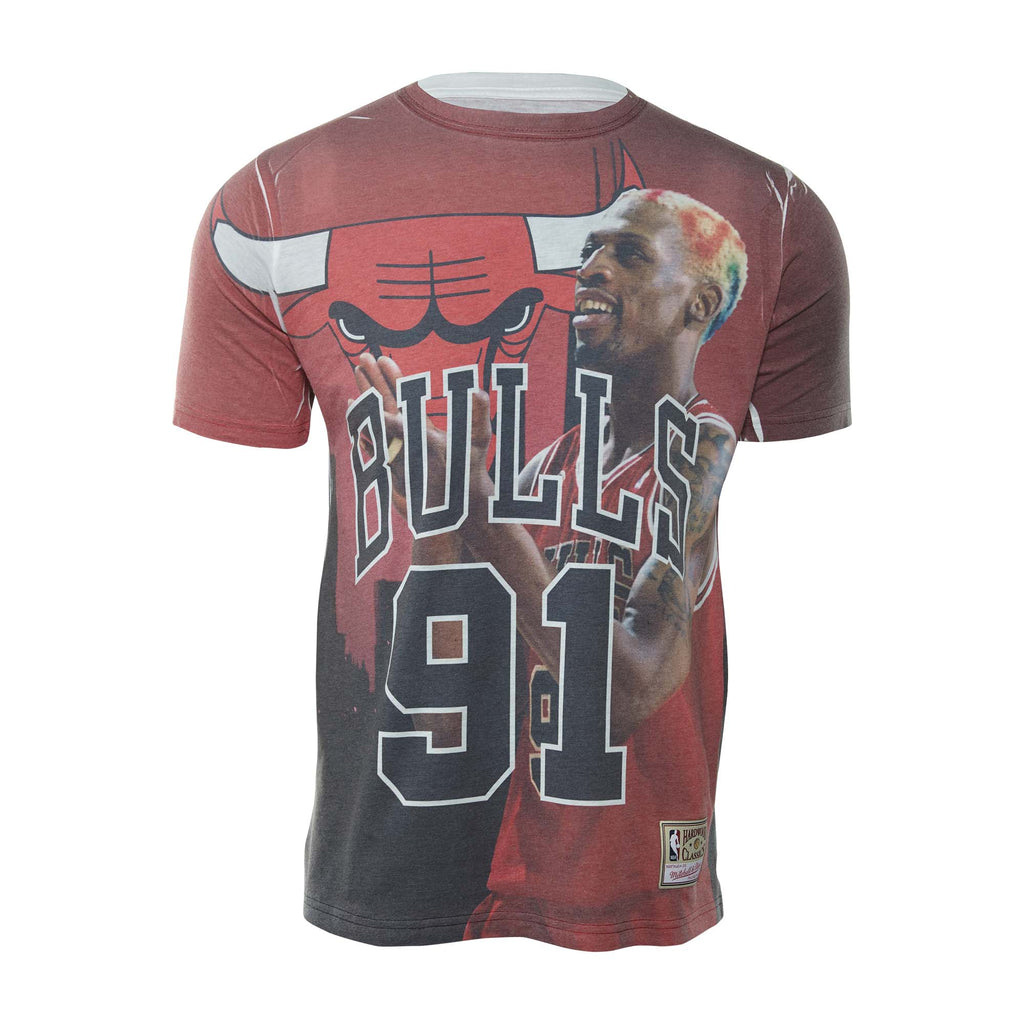 Mitchell&ness Nba City Pride N&m Tee Dennis Rodman Mens Style : Bmtrkt18007