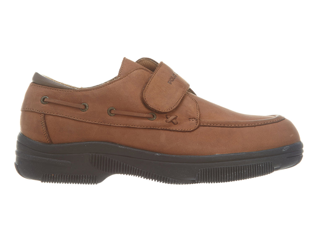 Polo Dark Tan Leather Meade Big Kids Style : Alb1070a