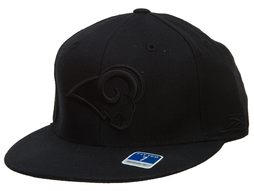 Reebok St.louis Rams Fitted Hat Mens Style : Hat696