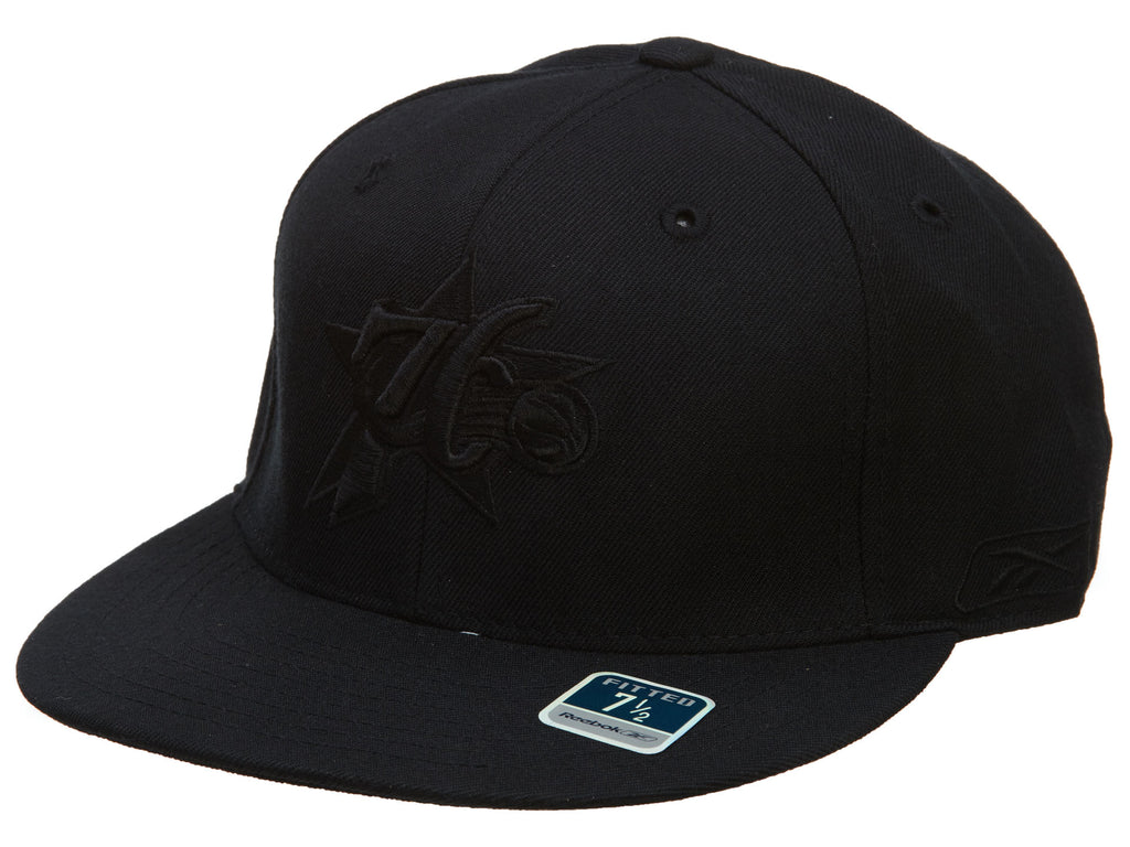 Reebok 76ers Fitted Hat Mens Style : Hat709