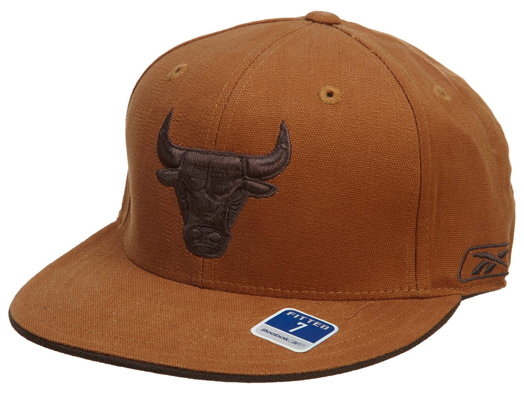 Reebok Chicago Bulls Fitted Hat Mens Style : Hat778