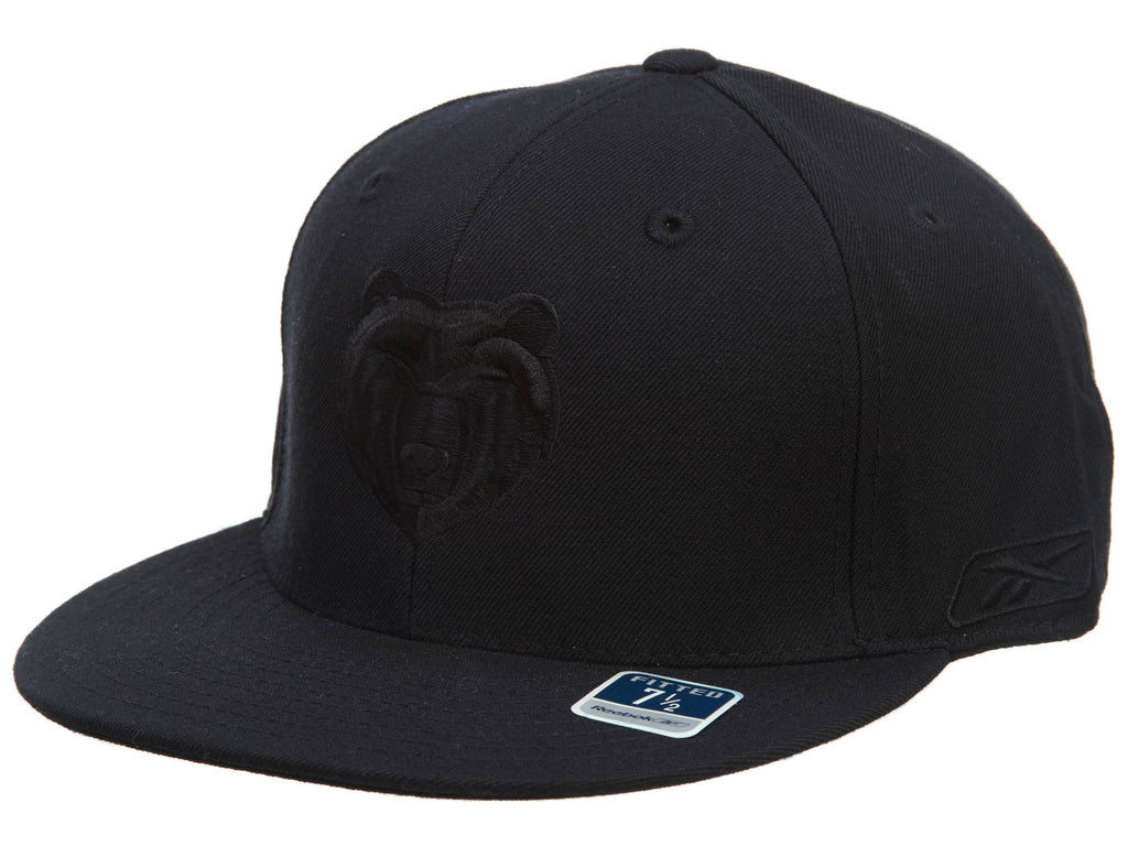 Reebok Memphis Grizzlies Fitted Hat Mens Style : Hat734