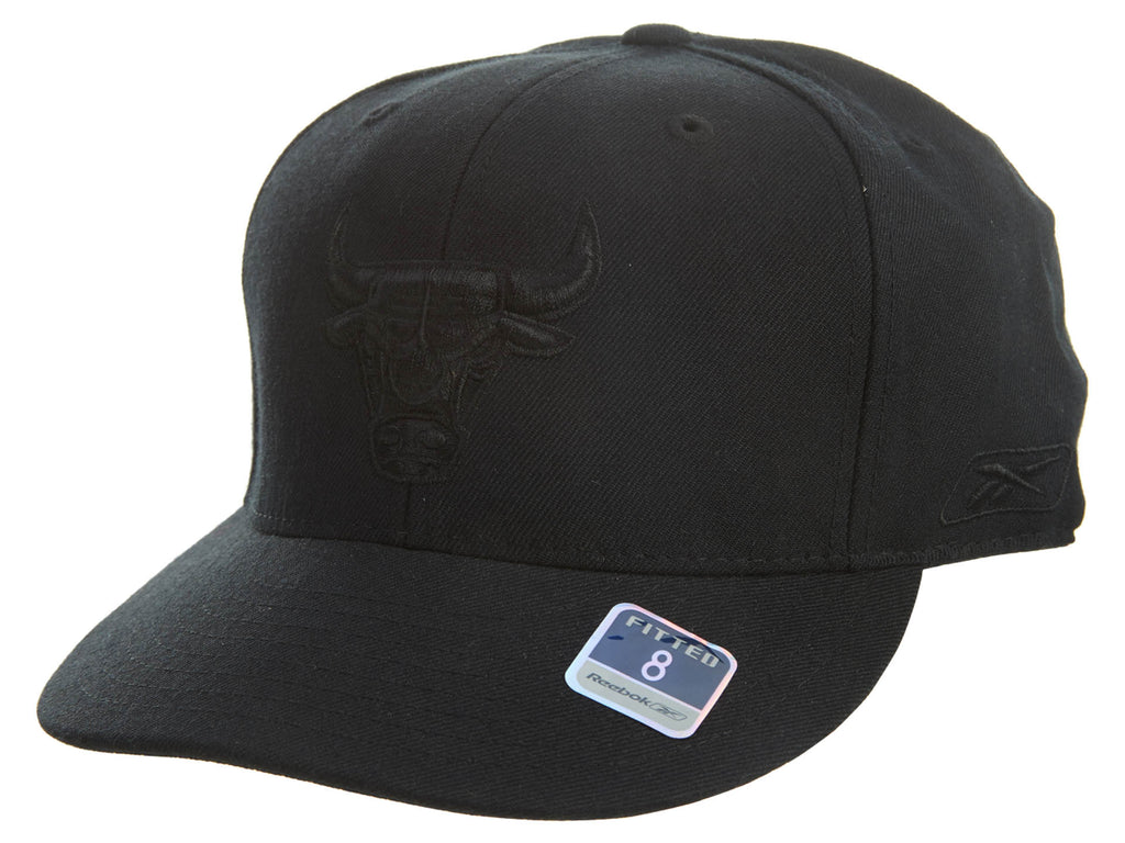 Reebok Chicago Bulls Fitted Hat Unisex Style : Hat239