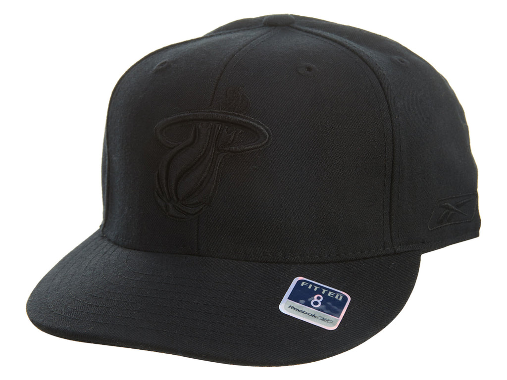 Reebok Miami Heat Fitted Hat Mens Style : Hat708