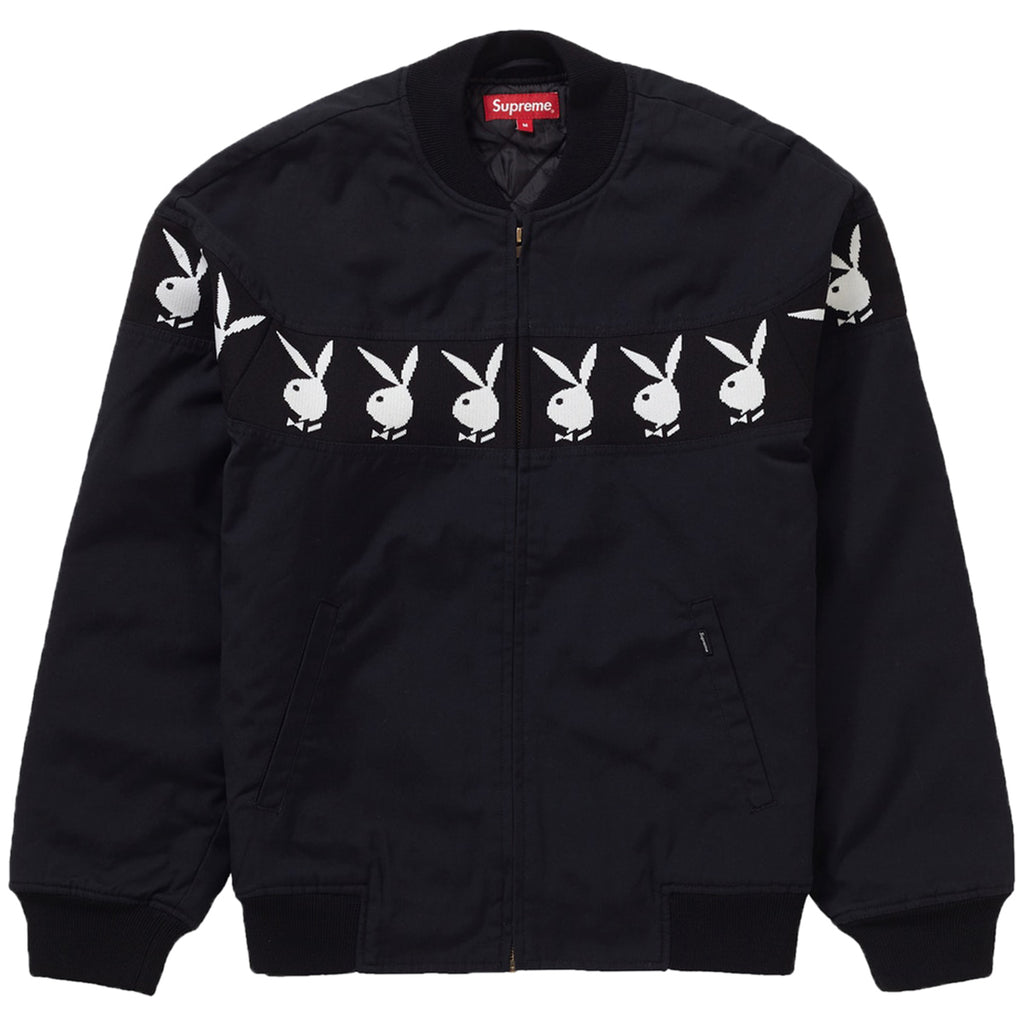 Supreme Playboy Crew Jacket Mens Style : Ss19j55