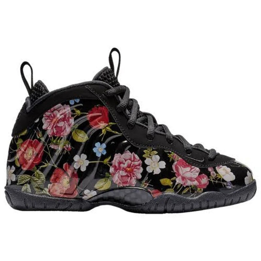 90821f0195e5c Nike Little Posite One Prm Floral Little Kids Style   At8249-001
