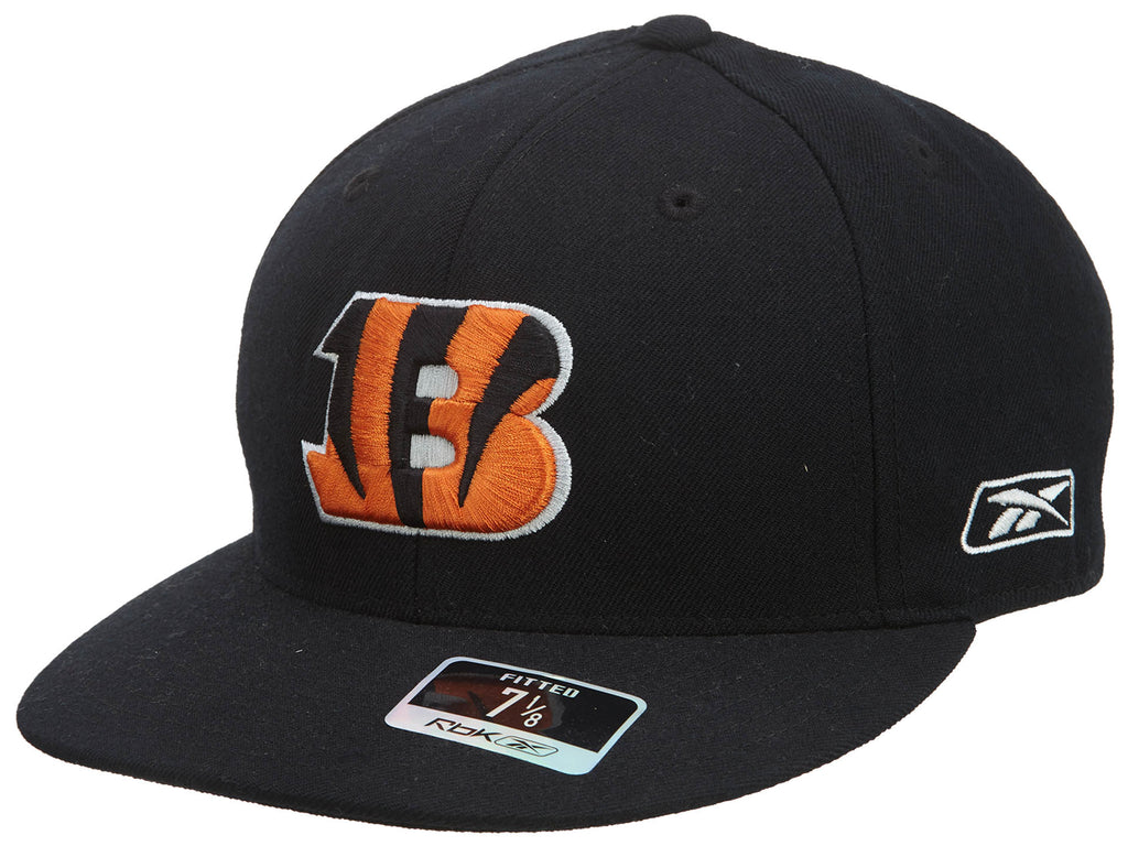Reebok Cincinnati Bengals NFL Team Prim Color Fitted Cap Mens Style : T987N