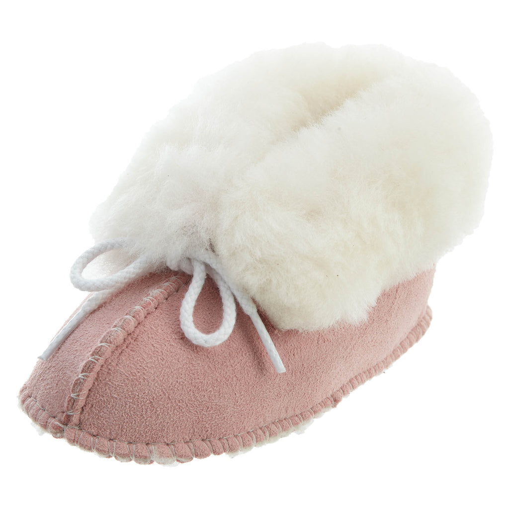 Minnetonka Genuine Sheepskin Bootie Crib Style : 1463