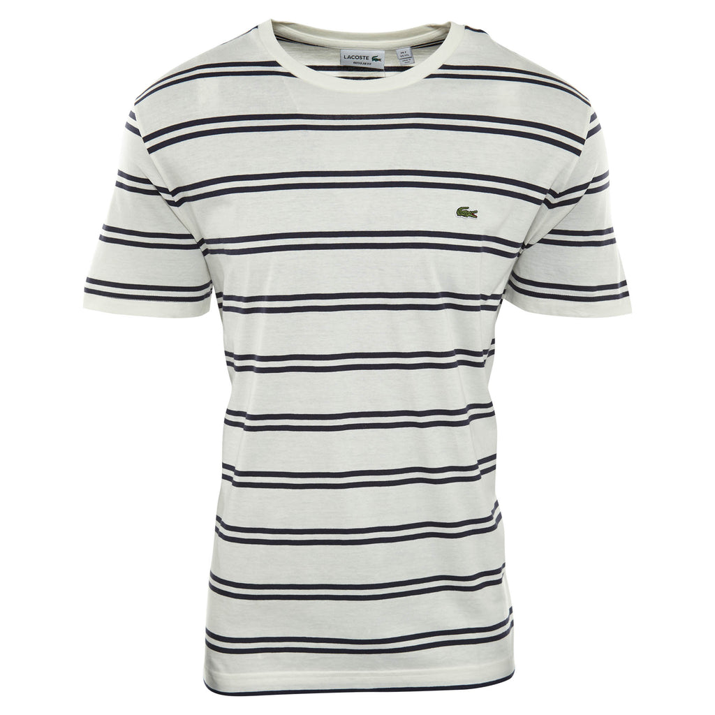 Lacoste Double Stripe Crewneck Tee  Mens Style : Th2708-51