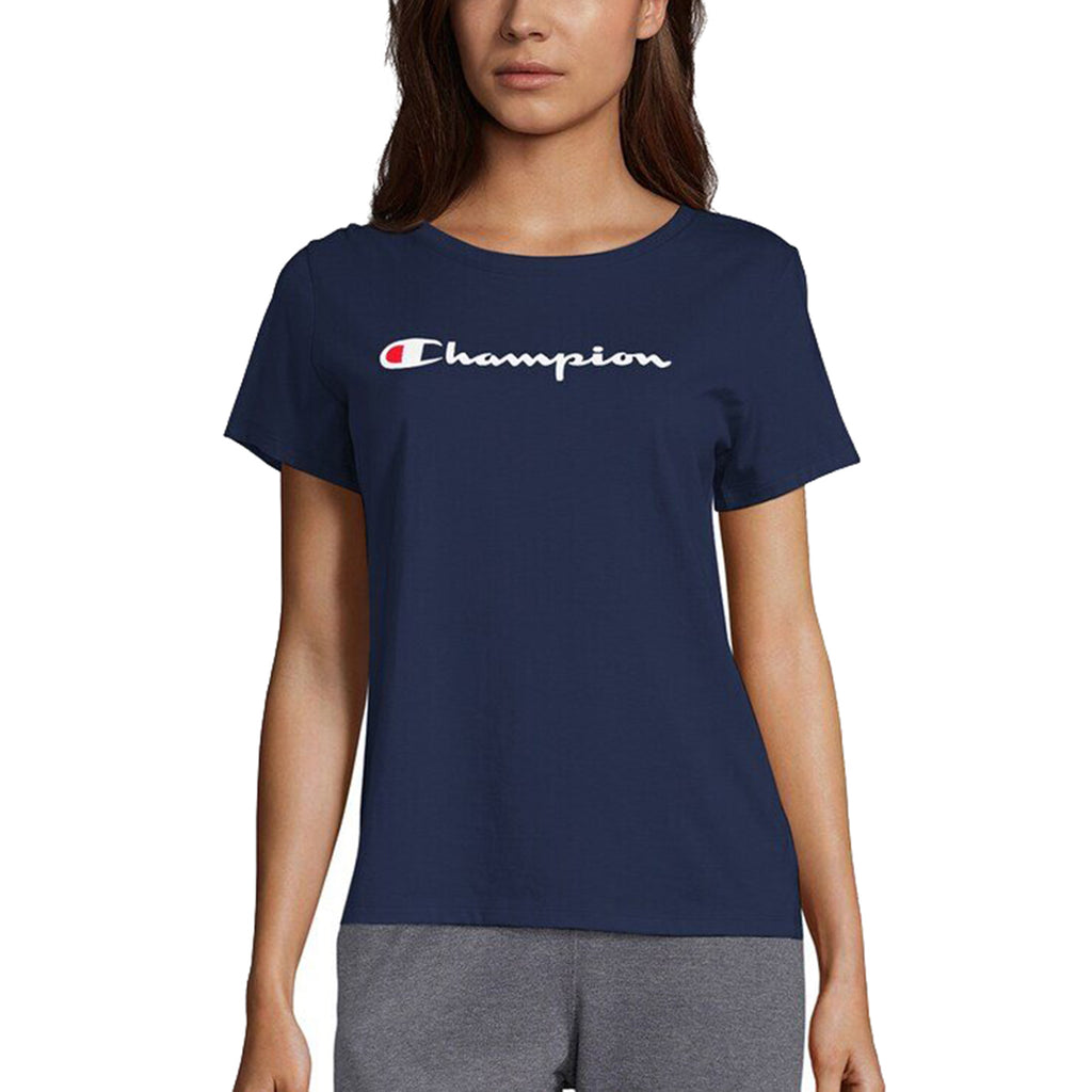 Champion Classic Jersey Short Sleeve Tee Womens Style : Gt18h