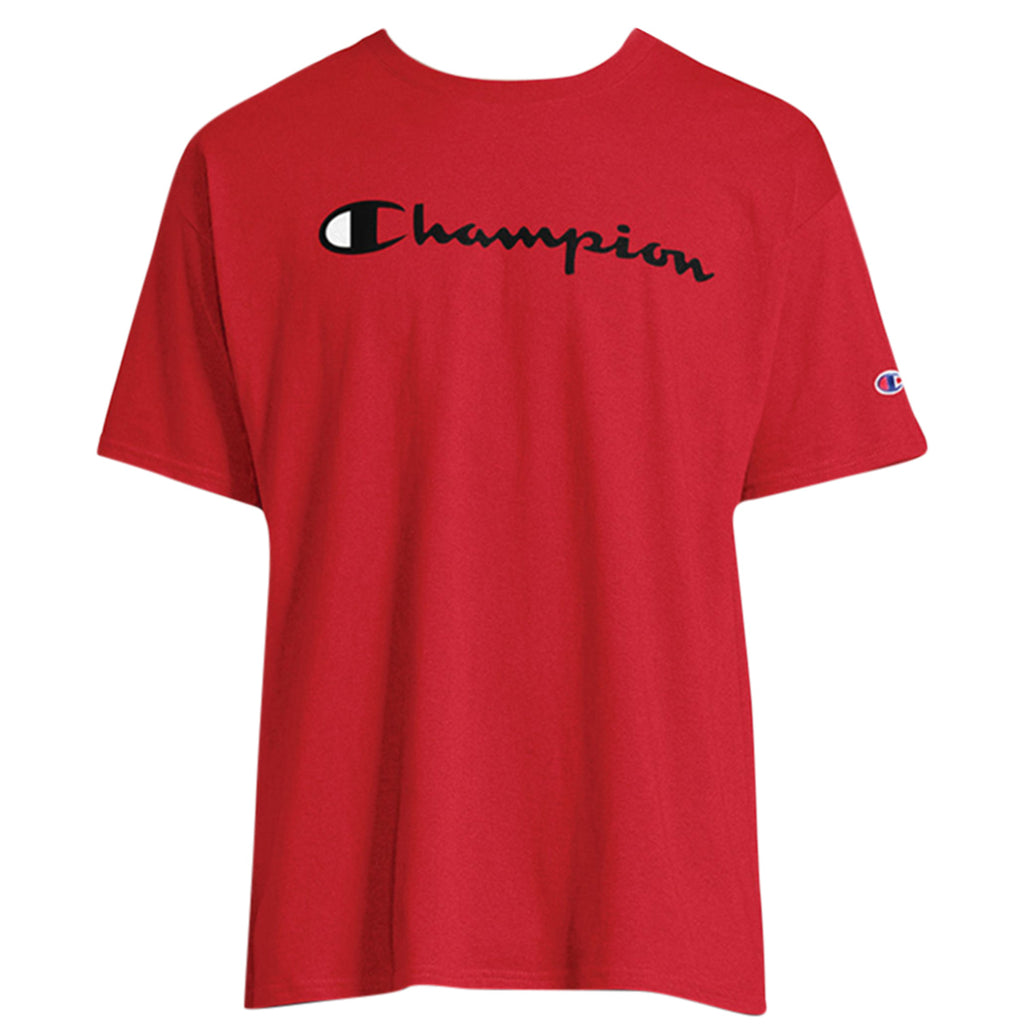 Champion Classic Jersey Script T-shirt Mens Style : Gt23h