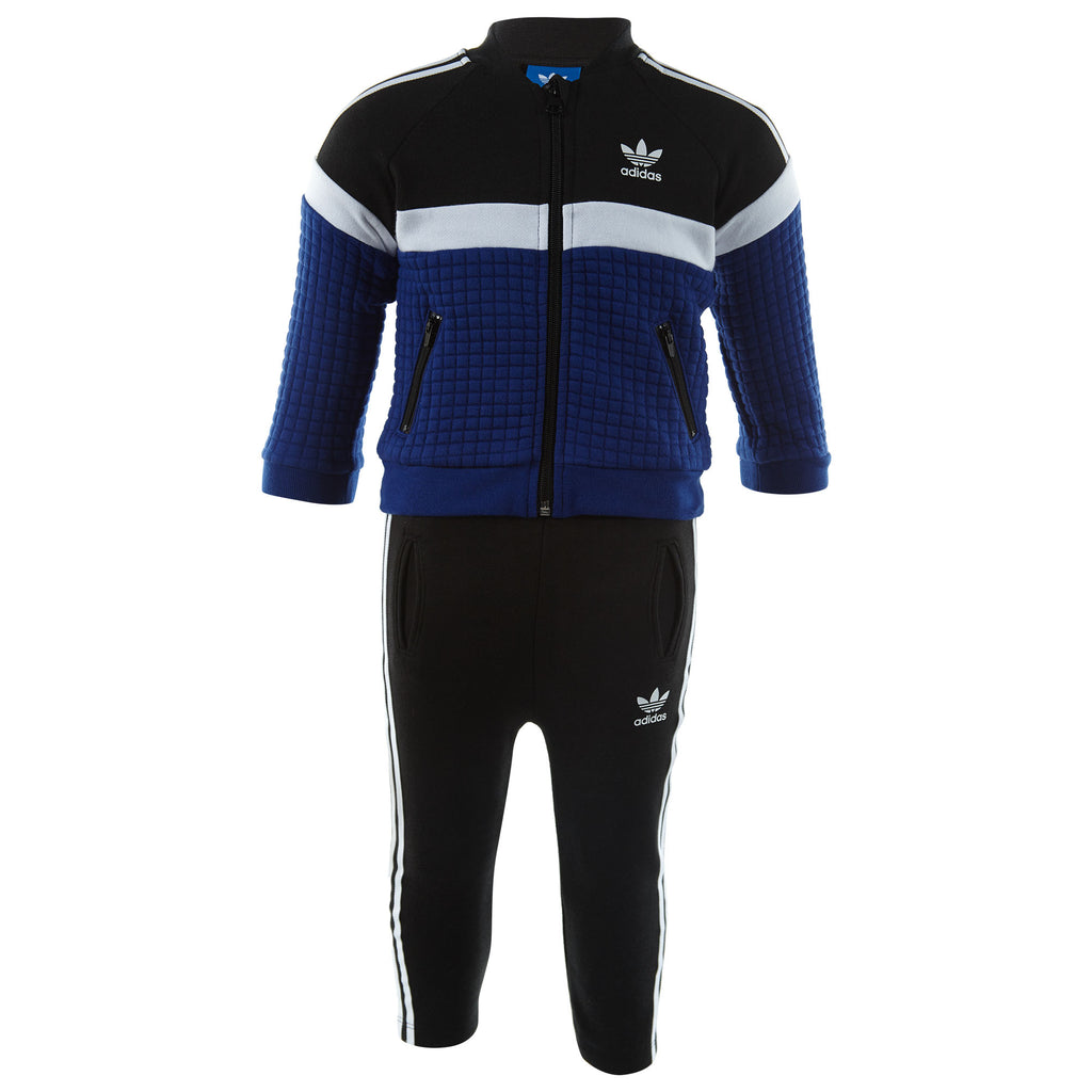 Adidas Trefoil Fleece Sst Track Suit Toddlers Style : Bq4405