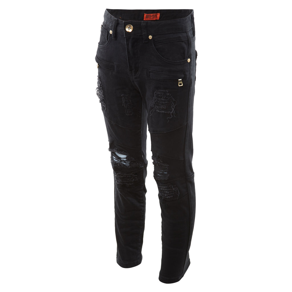 8ighth/dstrkt Biker Fit Twill Pant Big Kids Style : Ds8330b