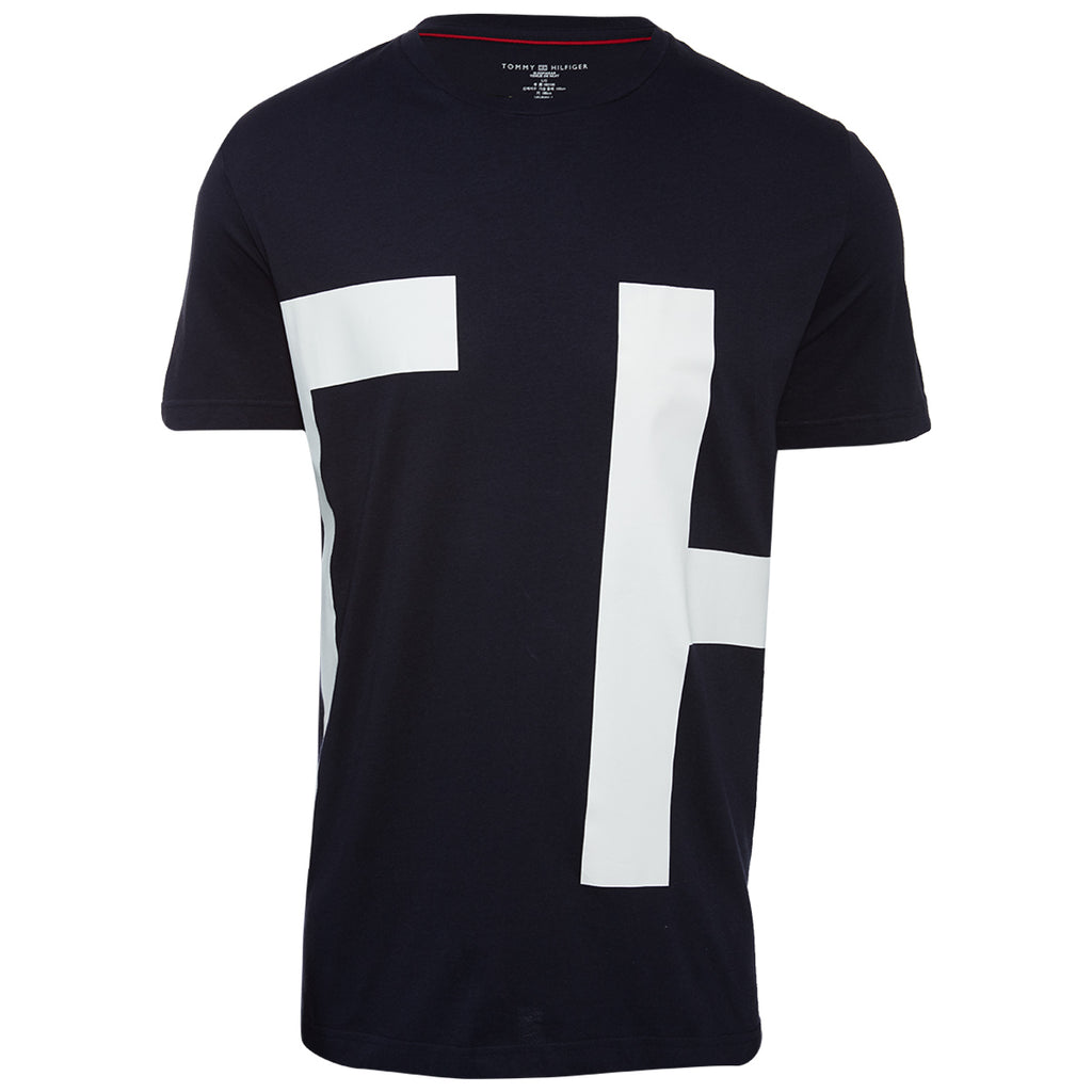 Tommyhilfiger Logo Tee Mens Style : 09t3551