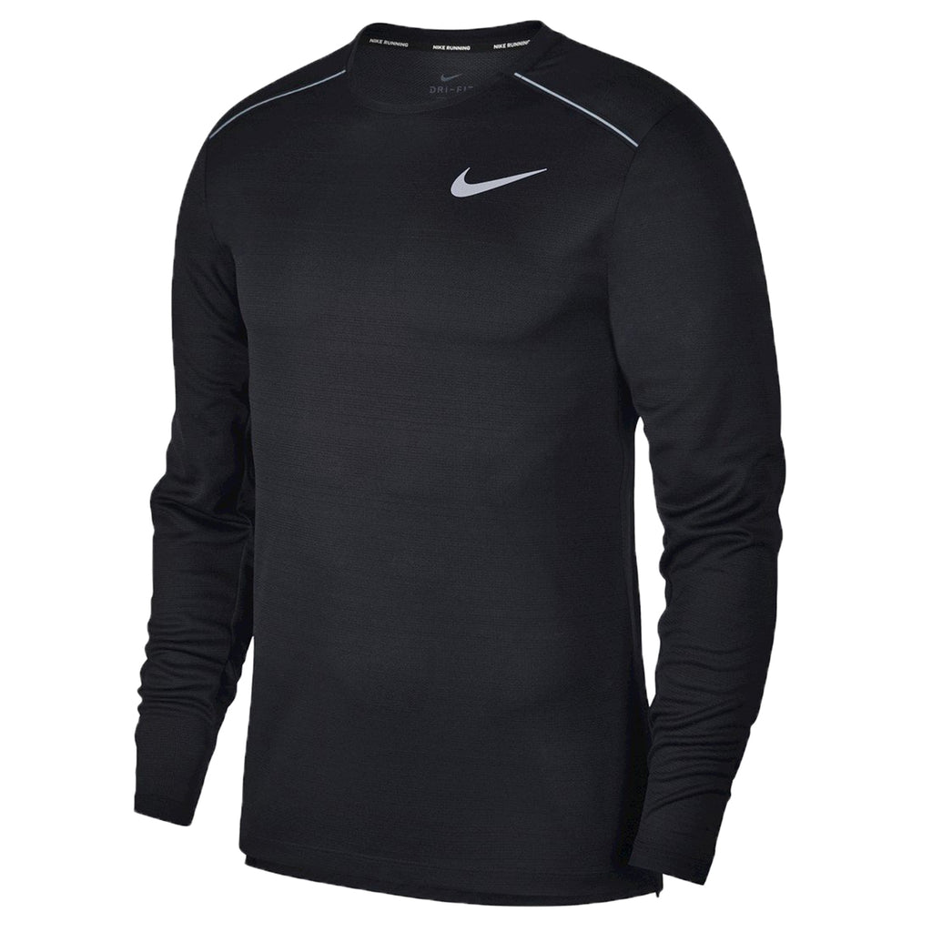 Nike Dri-fit Miler Long-sleeve Running Top Mens Style : Aj7568