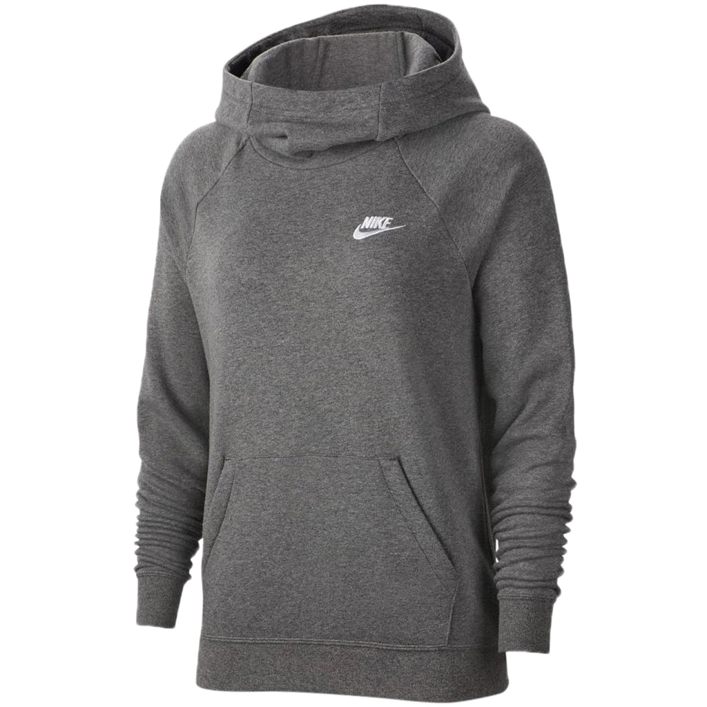 Nike Nsw Essential Funnel Pullover Fleece Hoodie Womens Style : Bv4116