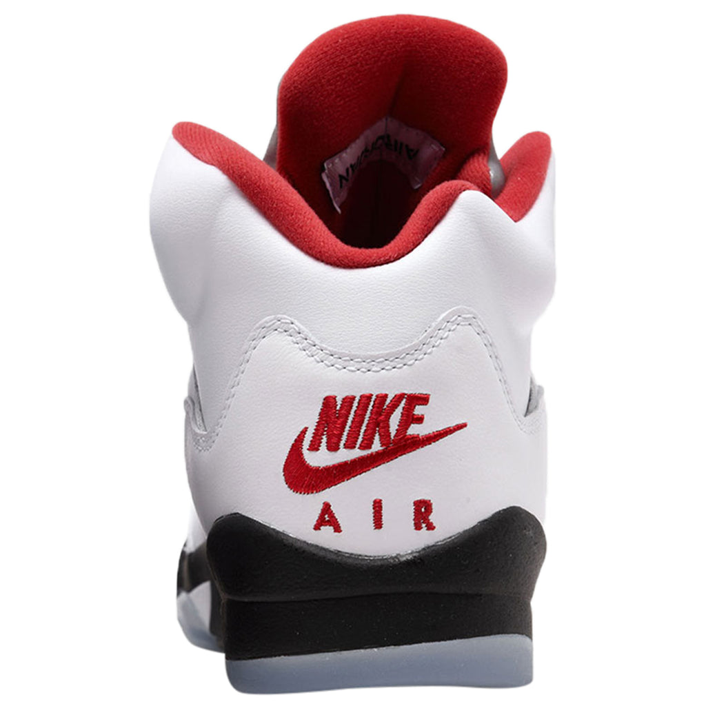 Jordan 5 Retro Fire Red Silver Tongue 2020 (GS) style :440888