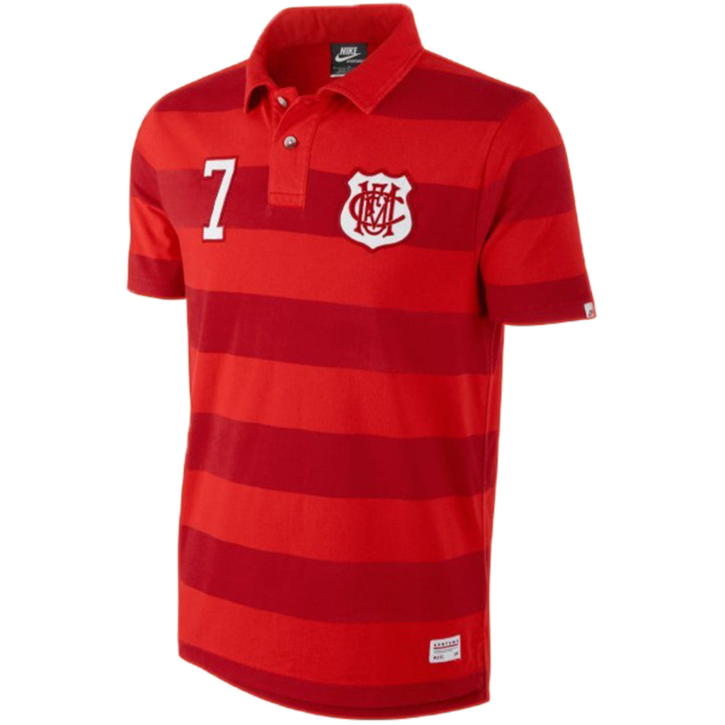 Nike Manchester United Covert Vintage Polo T-shirt Mens Style : 543971