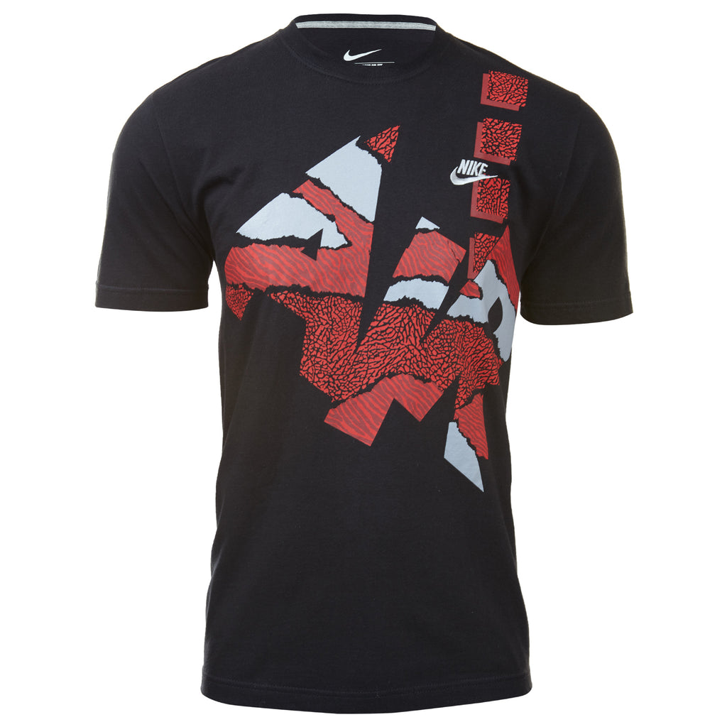 Nike Air Tribal Bred Multi Basketballt-shirt Mens Style : 609973