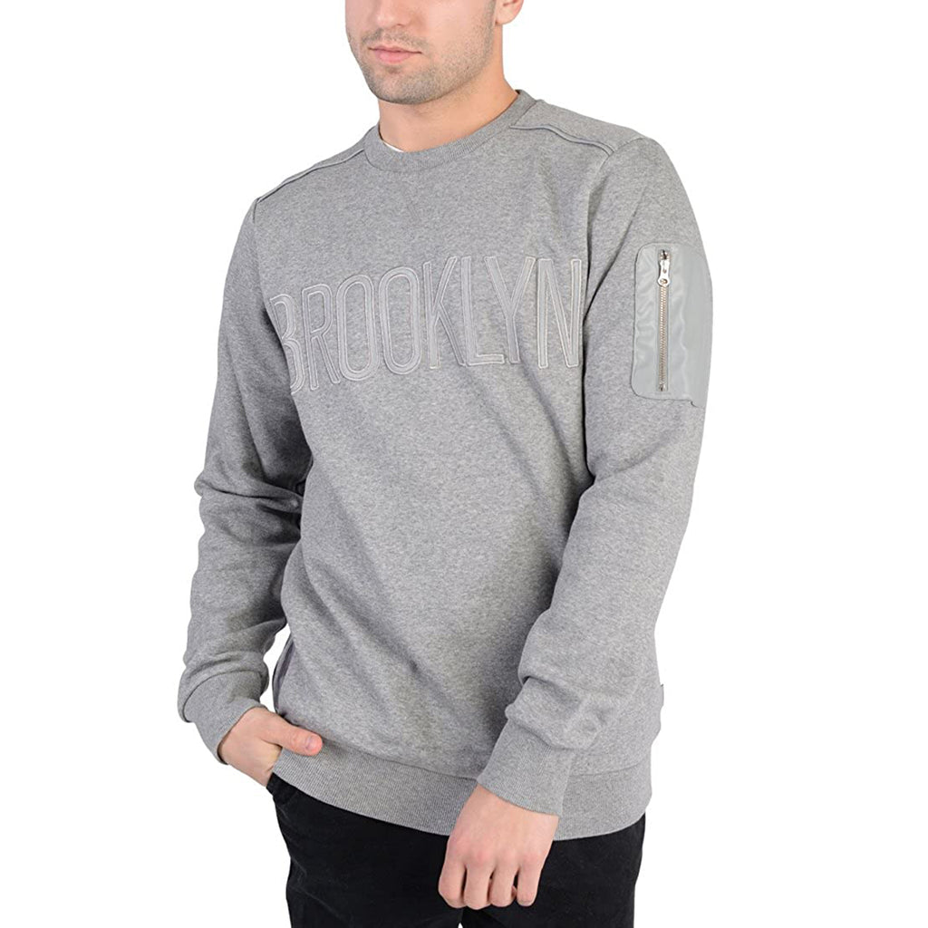 Adidas Nba Brooklyn Crew Neck Mens Style : M66333
