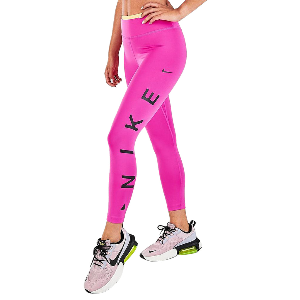 Nike One Icon Clash 7/8 Graphic Tights Womens Style : Cv9028