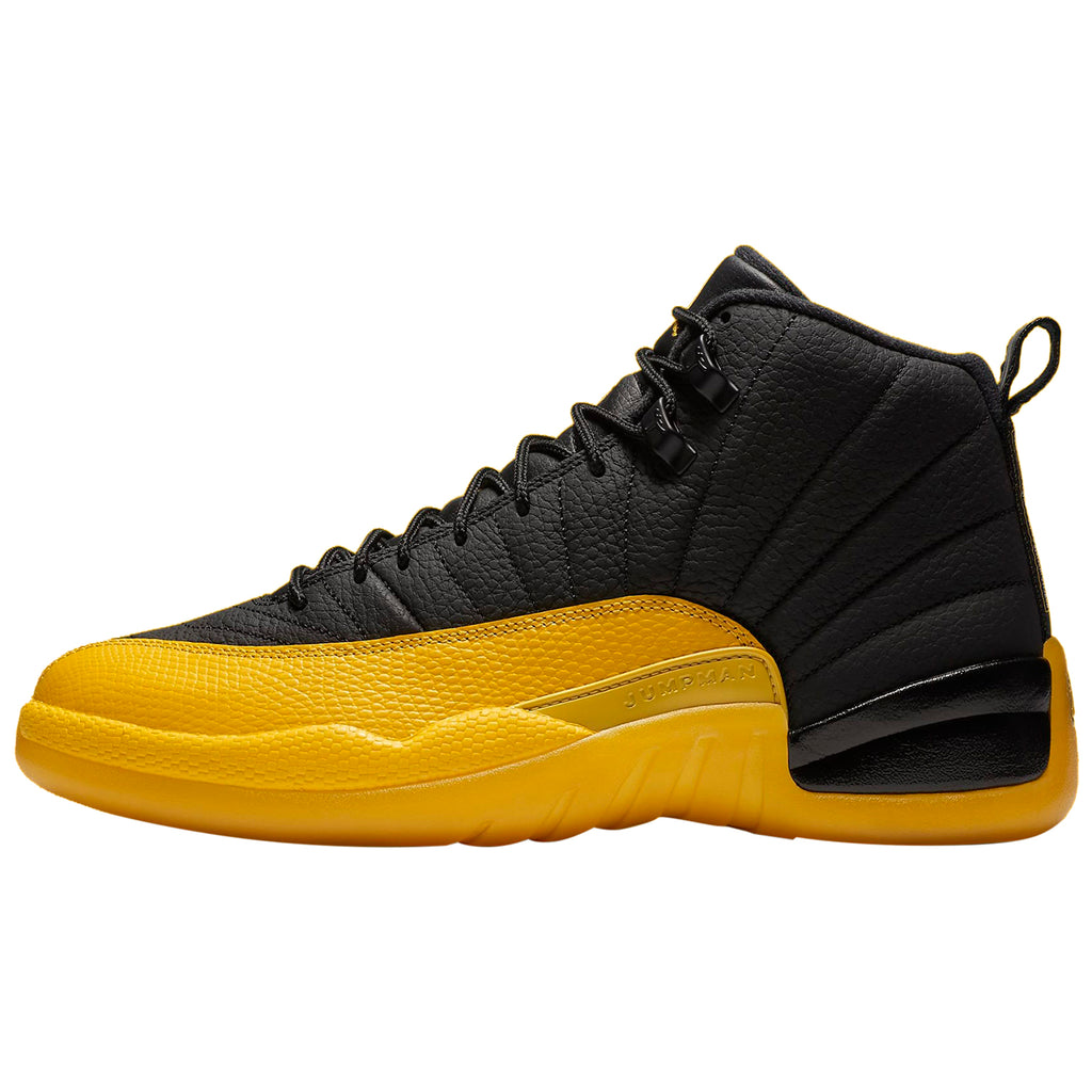 Jordan 12 Retro Black University Gold Mens Style : 130690-070