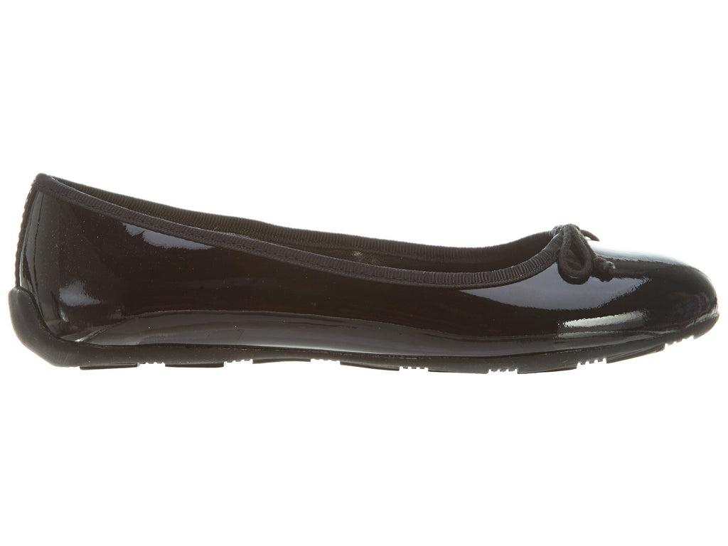 Polo Ralph Lauren Black Patent Leather Allie Style # B93970