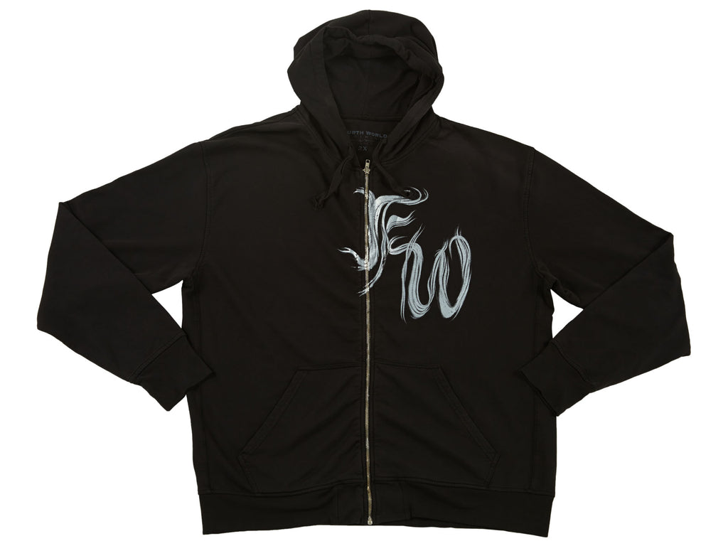Fourth World Hoodie Mens Style : Fw0500
