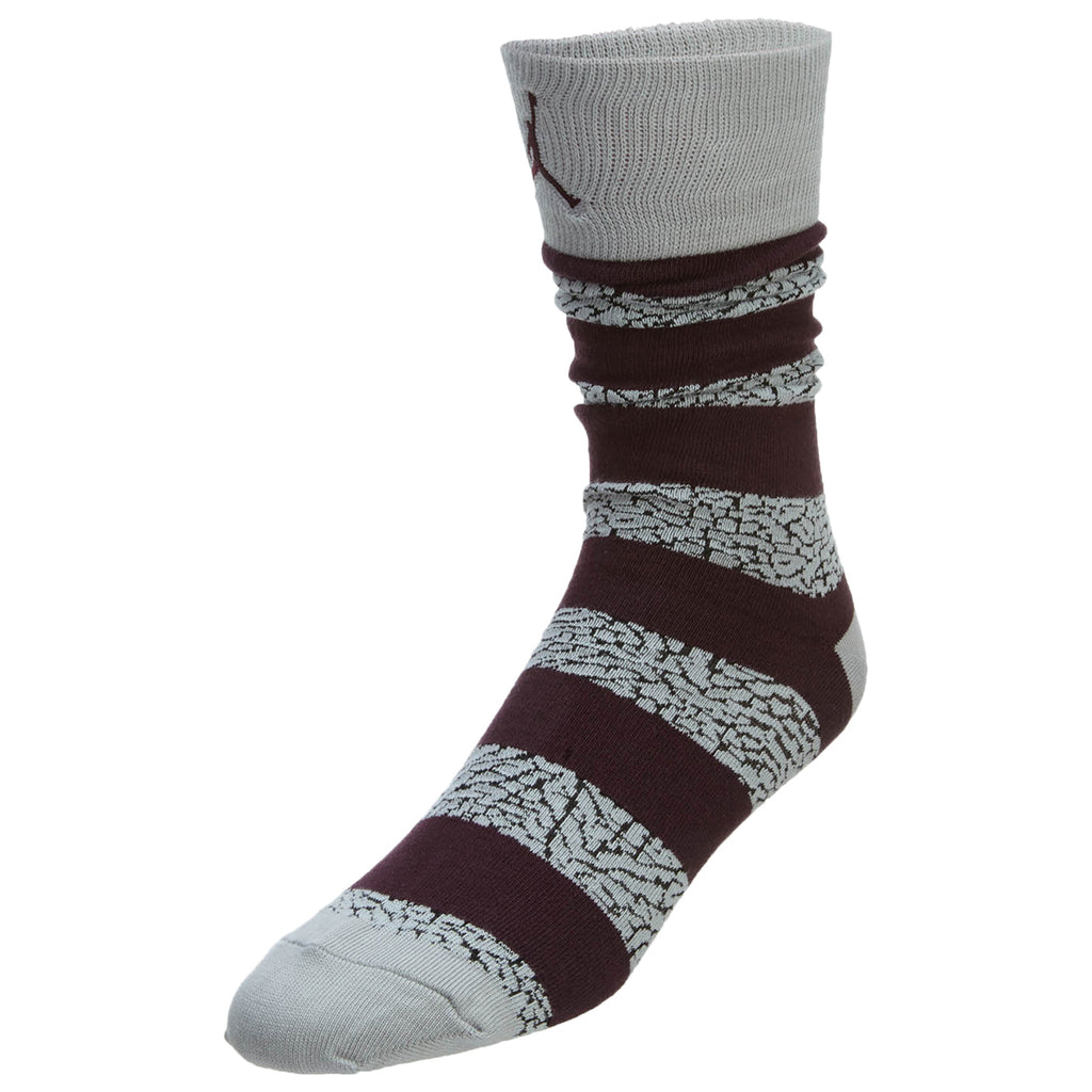 Jordan Elephant Striped Crew Socks  Mens Style : 647688