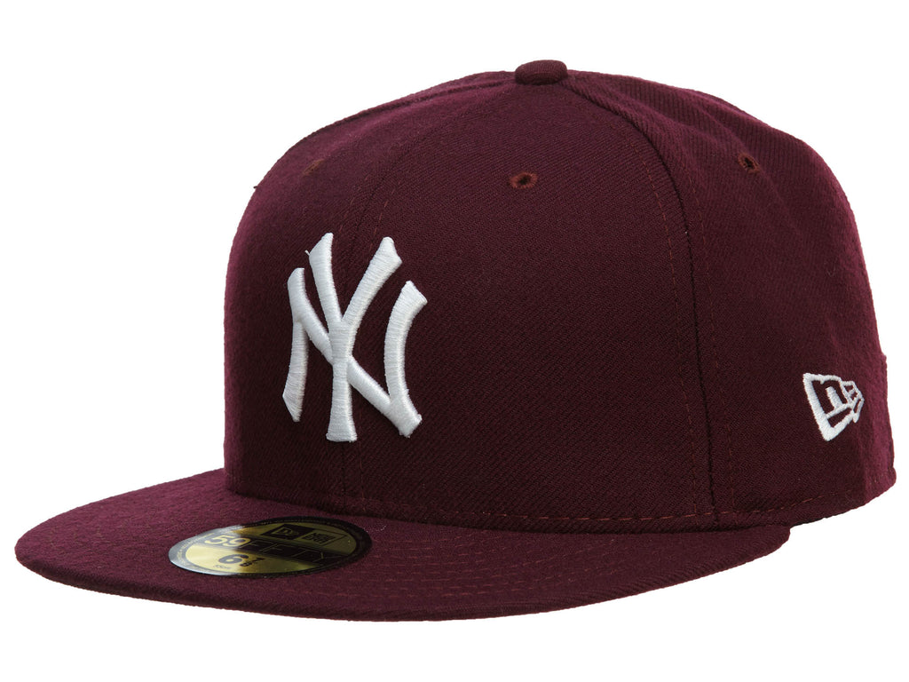 New Era New York Yankees Fitted Hat Mens Style : Nyyankee12