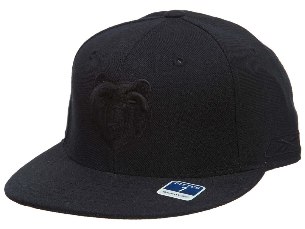 Reebok Memphis Grizzlies Fitted Hat Mens Style : Hat645