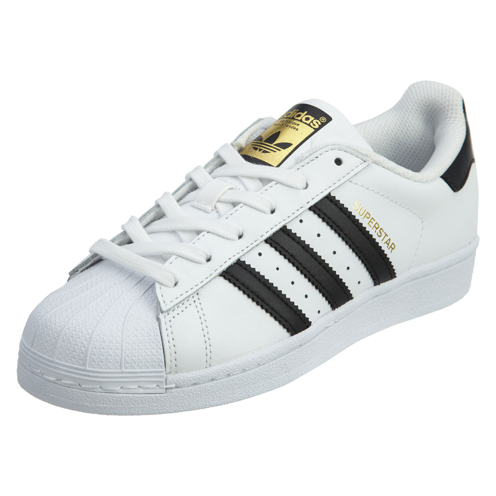 Adidas Originals Superstar Sneaker Big Kids White/Black Boys / Girls Style :C77154