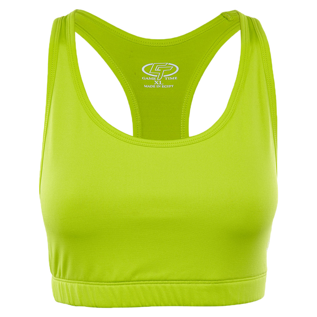 Game Time Sports Bra Womens Style : Gt04